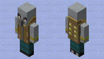 Vindicator Outlaw Minecraft Mob Skin