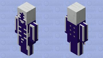 Toil, thoust worms! (Roulxs Kaard) Minecraft Mob Skin