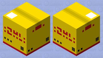 DHL delivery service Minecraft Mob Skin