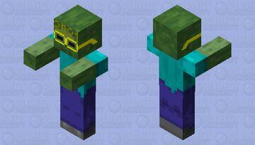 New Year's Zombie Minecraft Mob Skin