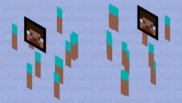 Oh no... the hour has come. Minecraft Mob Skin