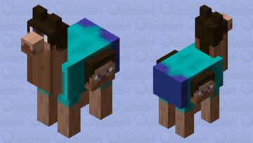 Long neck steve, with multiple heads Minecraft Mob Skin