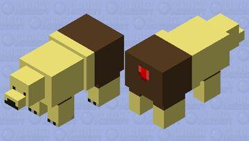 polar bears from the sweet pole Minecraft Mob Skin