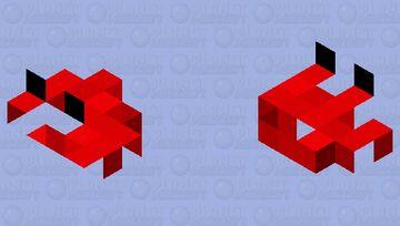 🦀🦀 crab rave 🦀🦀 Minecraft Mob Skin