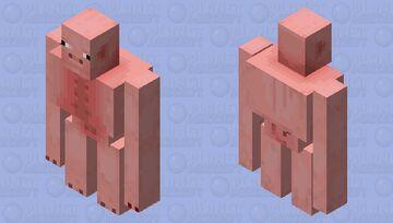 Pig Golem Minecraft Mob Skin