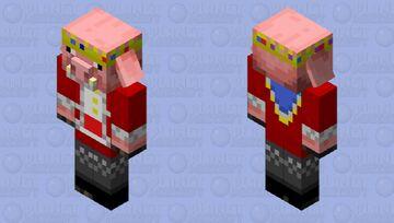 Technoblade Piglin   Technolin Minecraft Mob Skin