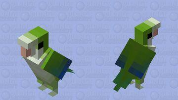 Caturrita (Myiopsitta monachus) Minecraft Mob Skin