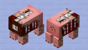 its a dead little piggy Minecraft Mob Skin
