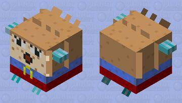 Mrs. Puff 🐡 Minecraft Mob Skin