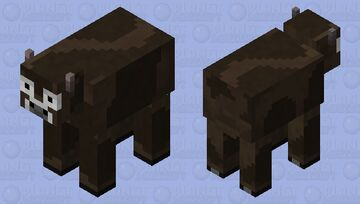 The Cow Minecraft Mob Skin