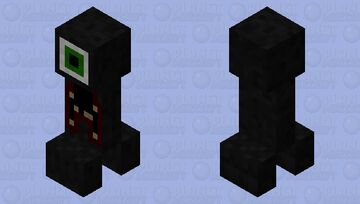 creepy fantasy creeper Minecraft Mob Skin