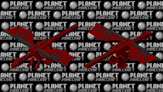 Red Dragon Minecraft Skin