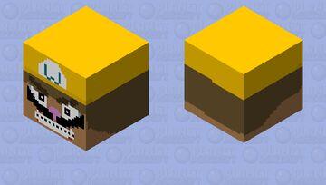 WARIO APPARITION SHOW YOU FUN!! Minecraft Mob Skin