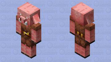 Pink Piglin Minecraft Mob Skin