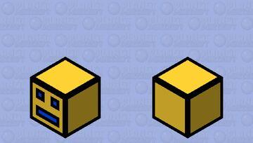 GD Cube Minecraft Mob Skin