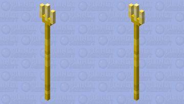 Golden fork Minecraft Mob Skin