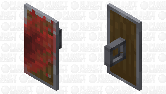 Bloody Shield Minecraft Skin