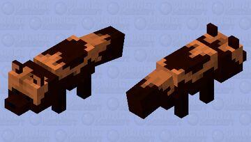 Wolverine (animal) Minecraft Mob Skin