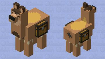 Black tailed deer Minecraft Mob Skin