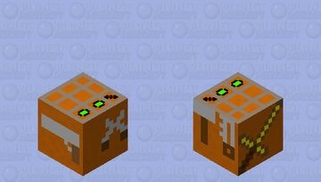 crafting table Minecraft Mob Skin