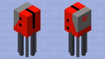 Minigun Minecraft Mob Skin