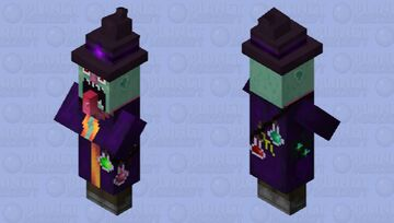 Old witch 2 Minecraft Mob Skin