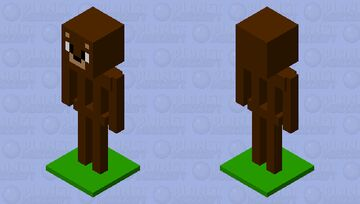 Bear armor stand🐻 Minecraft Mob Skin