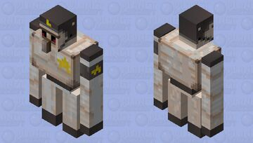 Just a iron golem with a helmet Minecraft Mob Skin