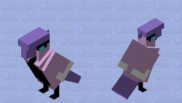 Galarian Articuno Remake Minecraft Mob Skin