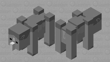 Rhinoceros Minecraft Mob Skin