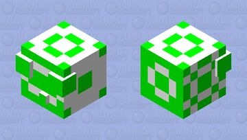 pattern slime Minecraft Mob Skin