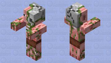 Pig ZombieMan Minecraft Mob Skin