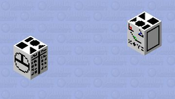 Geometry - Mob Skintober 2020 - Day 25 Minecraft Mob Skin
