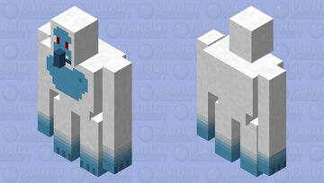 Yeti (Abominable Snowman) - Mythical Creatures Mob Skin Contest Entry! Minecraft Mob Skin