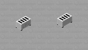 4 Slice Toaster of Doom Minecraft Mob Skin