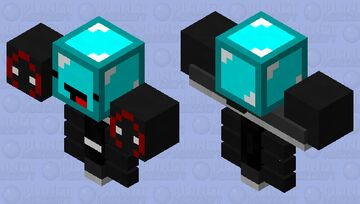 trio wither Minecraft Mob Skin