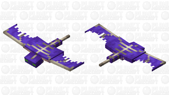 Purple Phantom Minecraft Skin