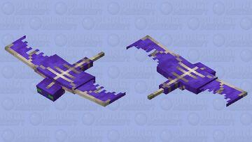 Purple Phantom Minecraft Mob Skin