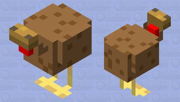 cAn ThIS ChiCkEn StARt A bUSsINEss WiTH mR.ClONeL SaNDeRs? Minecraft Mob Skin