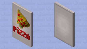 Pizza time! Minecraft Mob Skin