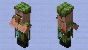 Bowfisher (Villager profession variant) Minecraft Mob Skin