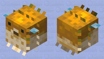 Better Pufferfish Minecraft Mob Skin