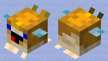 PufferNoob (Medium) Minecraft Mob Skin