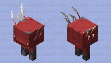 Happy Strider Minecraft Mob Skin