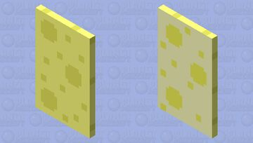 I decided to make mine into cheese or spongebob take your pick, (Capeofsheocontest) Minecraft Mob Skin