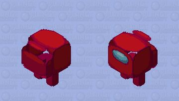 red sus (+11 other colors in desc) Minecraft Mob Skin