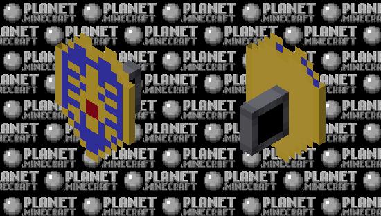 Dragon Quest - Erdrick's Shield Minecraft Skin