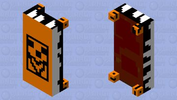 Pumpkin beast bed Minecraft Mob Skin