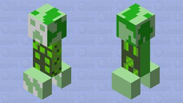 GlItCH cree *error* text.exe is not worcking aka corrupchet creePER Minecraft Mob Skin