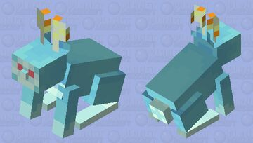 Blupee Inspired Minecraft Mob Skin